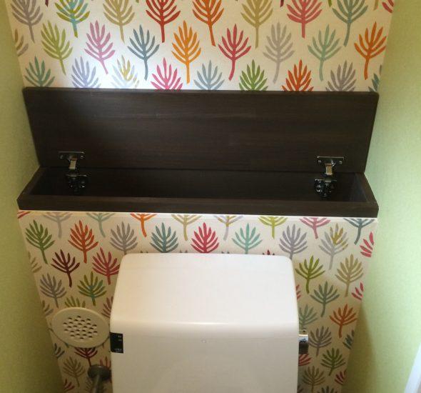 トイレ小物入れ