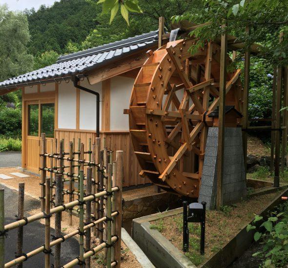 木製水車製作・水車棟建築工事