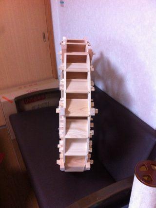 木製水車 小型