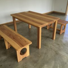 木製 テーブル ベンチ