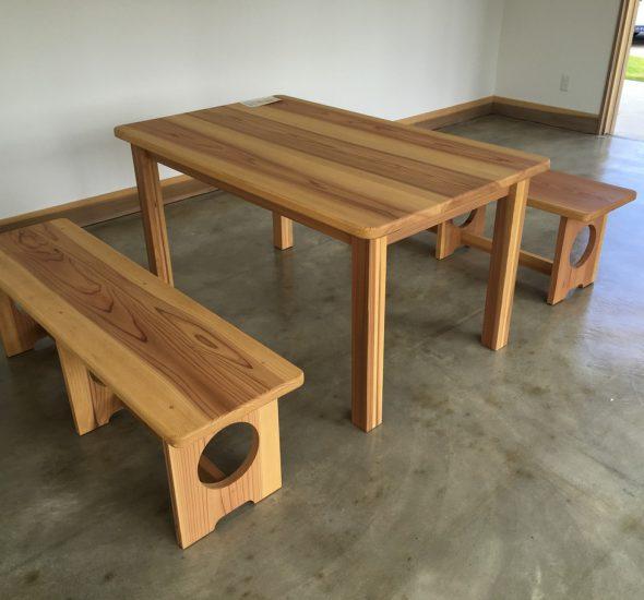 テーブル ベンチ