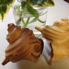さざえ 3D 三次元 木工