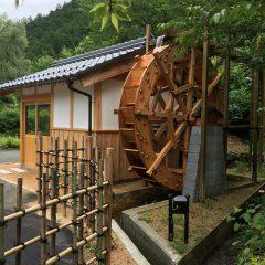 木製水車 大 小屋