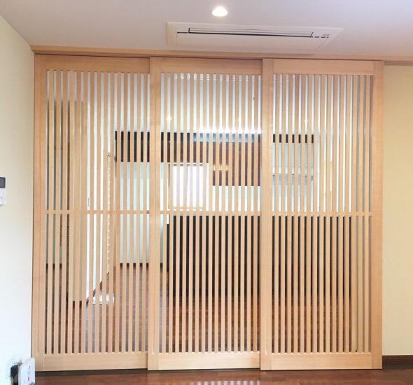 格子戸 | オーダーメイド家具・建具のMODEL